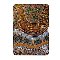 Aboriginal Traditional Pattern Samsung Galaxy Tab 2 (10.1 ) P5100 Hardshell Case