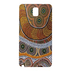 Aboriginal Traditional Pattern Samsung Galaxy Note 3 N9005 Hardshell Back Case