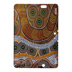Aboriginal Traditional Pattern Kindle Fire HDX 8.9  Hardshell Case
