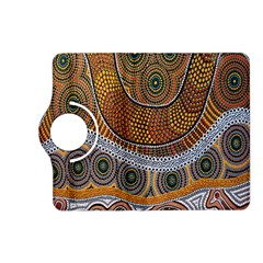 Aboriginal Traditional Pattern Kindle Fire HD (2013) Flip 360 Case