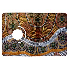 Aboriginal Traditional Pattern Kindle Fire HDX Flip 360 Case