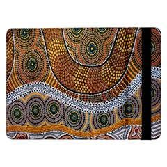 Aboriginal Traditional Pattern Samsung Galaxy Tab Pro 12.2  Flip Case