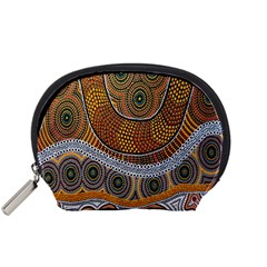 Aboriginal Traditional Pattern Accessory Pouches (Small)