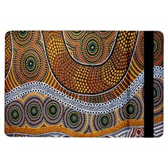 Aboriginal Traditional Pattern iPad Air Flip