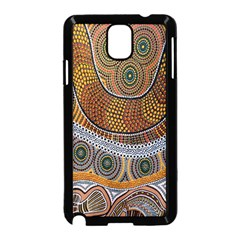 Aboriginal Traditional Pattern Samsung Galaxy Note 3 Neo Hardshell Case (Black)