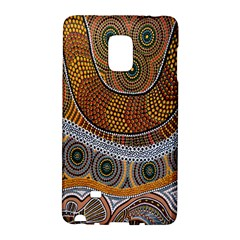 Aboriginal Traditional Pattern Galaxy Note Edge
