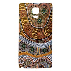 Aboriginal Traditional Pattern Galaxy Note 4 Back Case