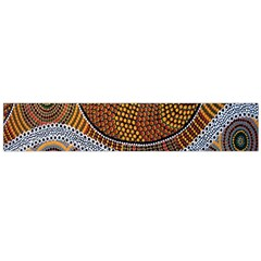 Aboriginal Traditional Pattern Flano Scarf (Large)
