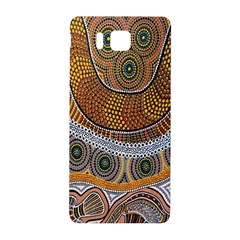 Aboriginal Traditional Pattern Samsung Galaxy Alpha Hardshell Back Case