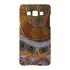 Aboriginal Traditional Pattern Samsung Galaxy A5 Hardshell Case