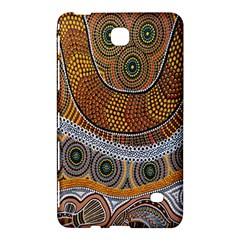 Aboriginal Traditional Pattern Samsung Galaxy Tab 4 (7 ) Hardshell Case