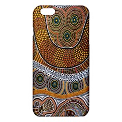 Aboriginal Traditional Pattern iPhone 6 Plus/6S Plus TPU Case