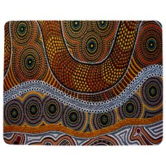 Aboriginal Traditional Pattern Jigsaw Puzzle Photo Stand (Rectangular)