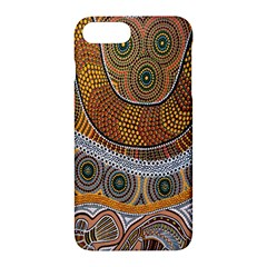 Aboriginal Traditional Pattern Apple iPhone 7 Plus Hardshell Case