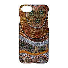 Aboriginal Traditional Pattern Apple iPhone 7 Hardshell Case