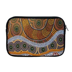 Aboriginal Traditional Pattern Apple MacBook Pro 17  Zipper Case