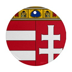 Coat of Arms of Hungary Ornament (Round)