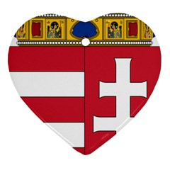 Coat of Arms of Hungary Ornament (Heart)