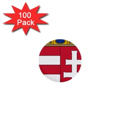 Coat of Arms of Hungary 1  Mini Buttons (100 pack)