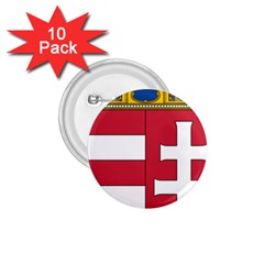 Coat of Arms of Hungary 1.75  Buttons (10 pack)