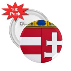 Coat of Arms of Hungary 2.25  Buttons (100 pack)