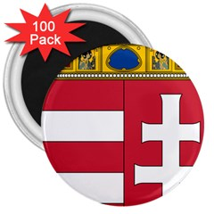 Coat of Arms of Hungary 3  Magnets (100 pack)