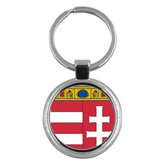Coat of Arms of Hungary Key Chains (Round)