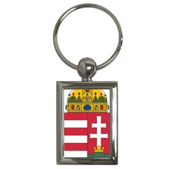 Coat of Arms of Hungary Key Chains (Rectangle)
