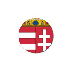 Coat of Arms of Hungary Golf Ball Marker