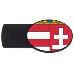 Coat of Arms of Hungary USB Flash Drive Oval (1 GB)