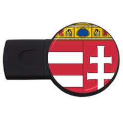 Coat of Arms of Hungary USB Flash Drive Round (4 GB)