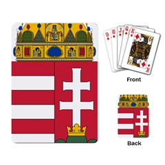 Coat of Arms of Hungary Playing Card