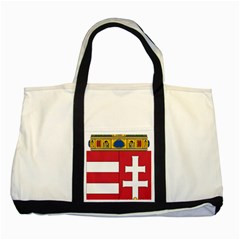 Coat of Arms of Hungary Two Tone Tote Bag