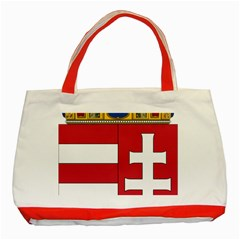 Coat of Arms of Hungary Classic Tote Bag (Red)