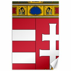 Coat of Arms of Hungary Canvas 12  x 18
