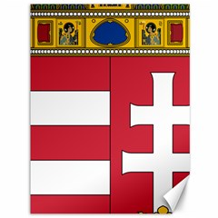 Coat of Arms of Hungary Canvas 36  x 48