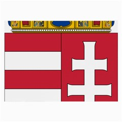 Coat of Arms of Hungary Large Glasses Cloth (2-Side)