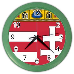 Coat of Arms of Hungary Color Wall Clocks