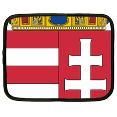 Coat of Arms of Hungary Netbook Case (Large)