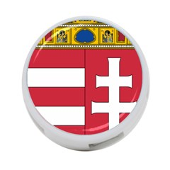 Coat of Arms of Hungary 4-Port USB Hub (One Side)