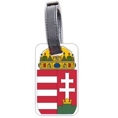 Coat of Arms of Hungary Luggage Tags (Two Sides)