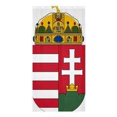 Coat of Arms of Hungary Shower Curtain 36  x 72  (Stall)