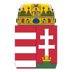 Coat of Arms of Hungary Shower Curtain 48  x 72  (Small)