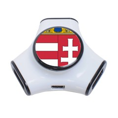 Coat of Arms of Hungary 3-Port USB Hub