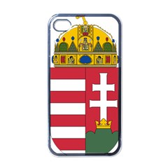 Coat of Arms of Hungary Apple iPhone 4 Case (Black)