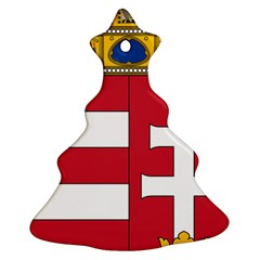 Coat of Arms of Hungary Christmas Tree Ornament (Two Sides)