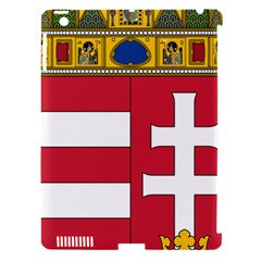 Coat of Arms of Hungary Apple iPad 3/4 Hardshell Case (Compatible with Smart Cover)