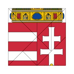 Coat of Arms of Hungary Acrylic Tangram Puzzle (6  x 6 )