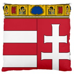 Coat of Arms of Hungary Large Cushion Case (One Side)