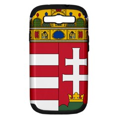 Coat of Arms of Hungary Samsung Galaxy S III Hardshell Case (PC+Silicone)
